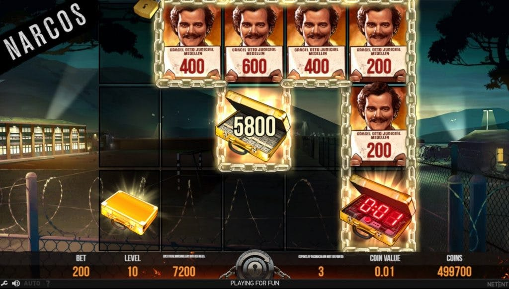 bonus narcos