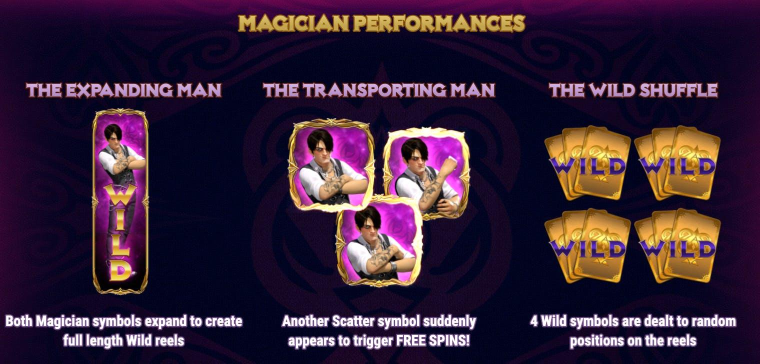 magician performances