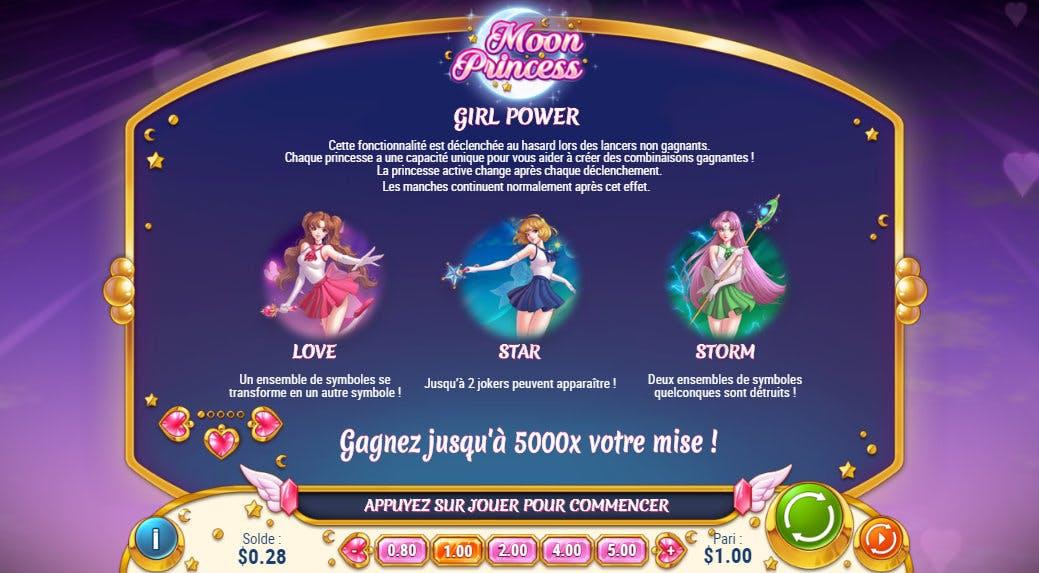 girl power moon princess