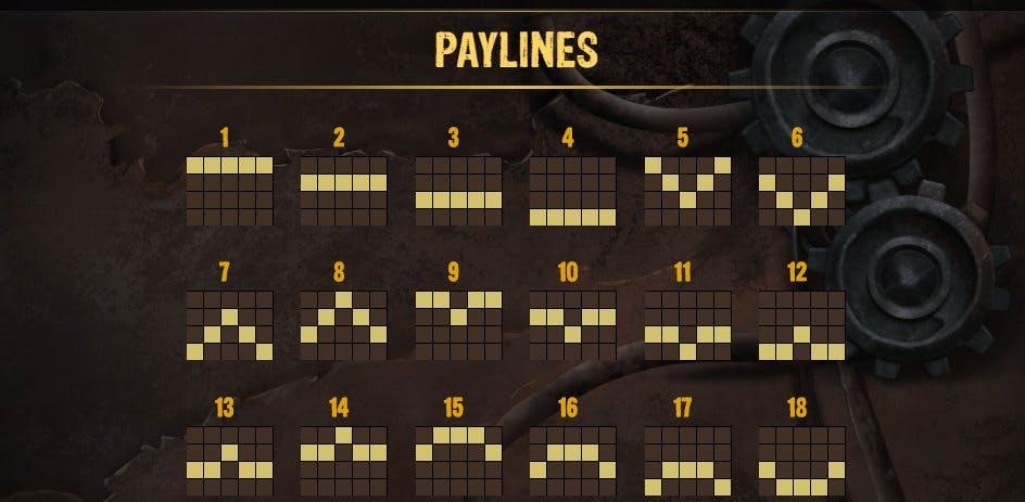 paylines money train 2