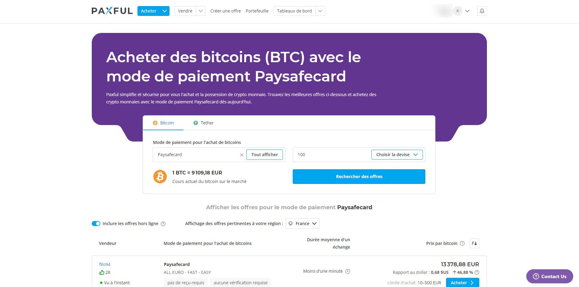 acheter des bitcoins avec paysafecard prepaid