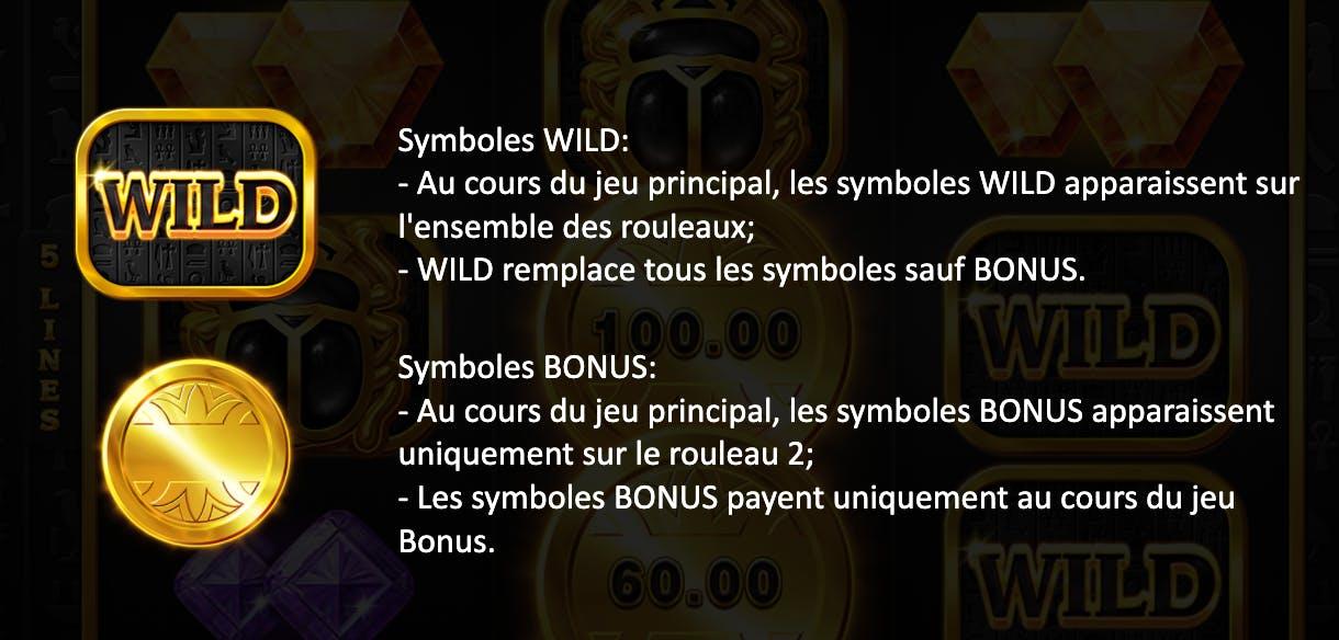 symbole wild