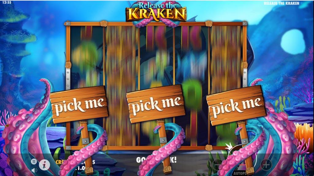 base game bonus Kraken