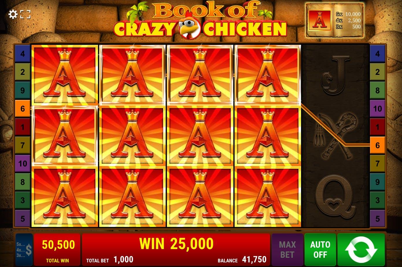 bonus book of crazy chicken