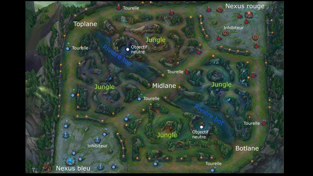 map league of legends
