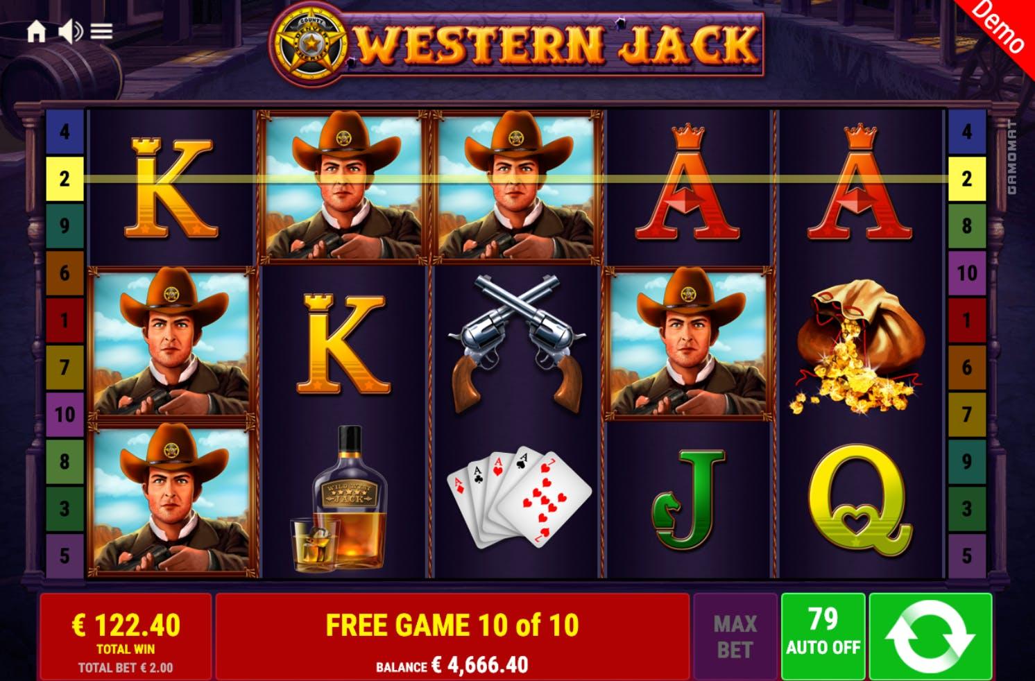 bonus western jack