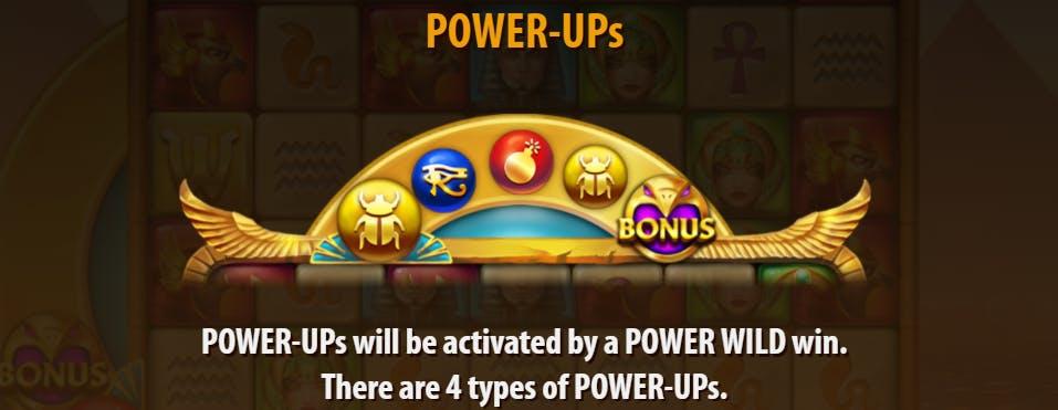 power-ups golden glyph