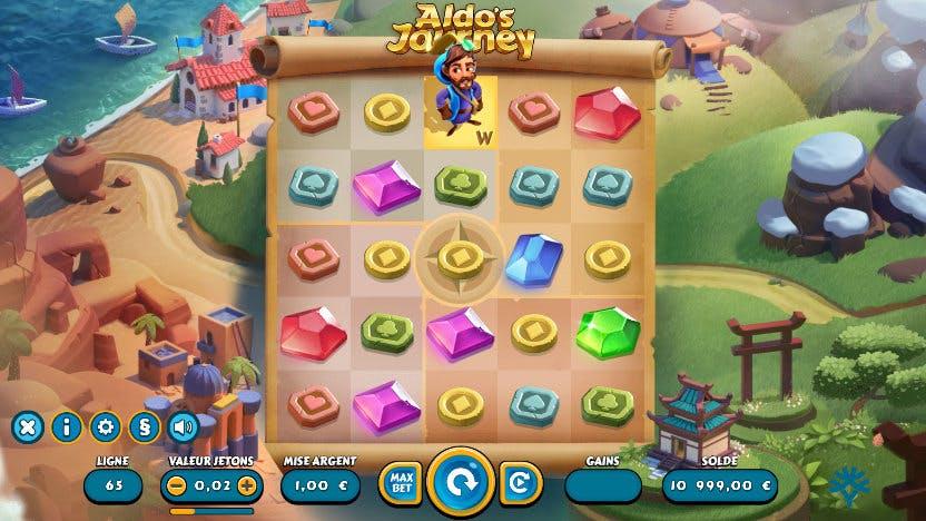 slot aldo's journey