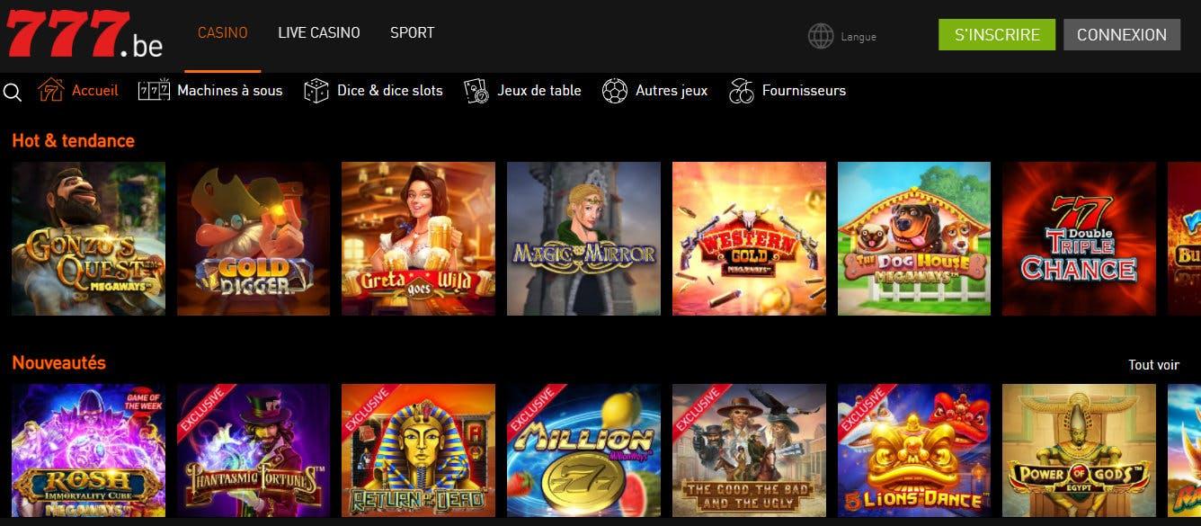 machines casino 777