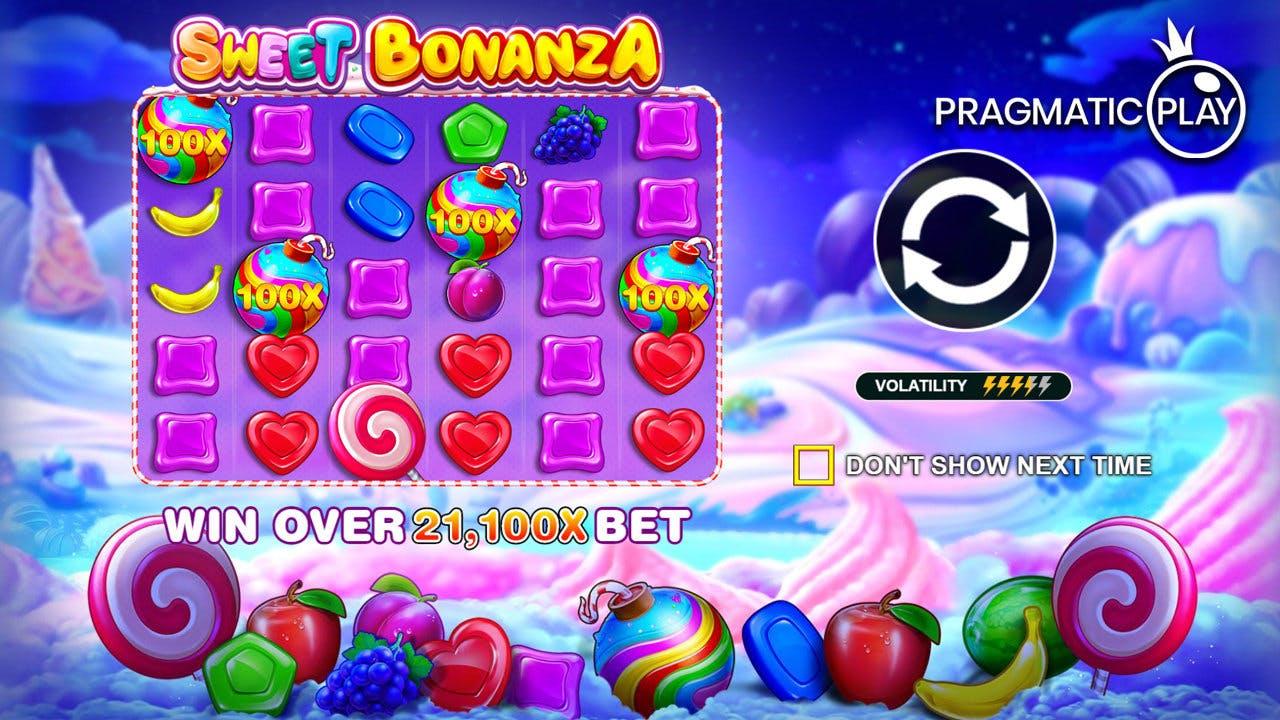 multiplicateurs Sweet Bonanza