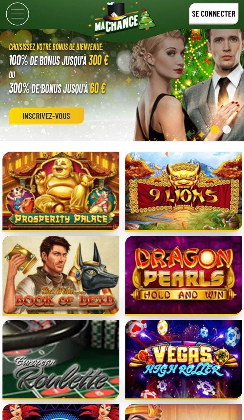 ma chance casino mobile