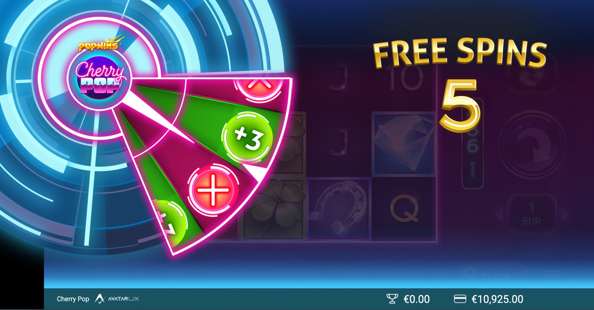 roue free spins supplémentaires