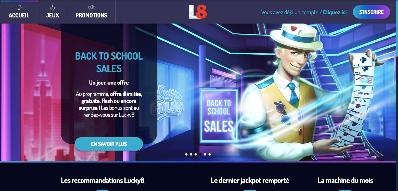 site Lucky8 casino
