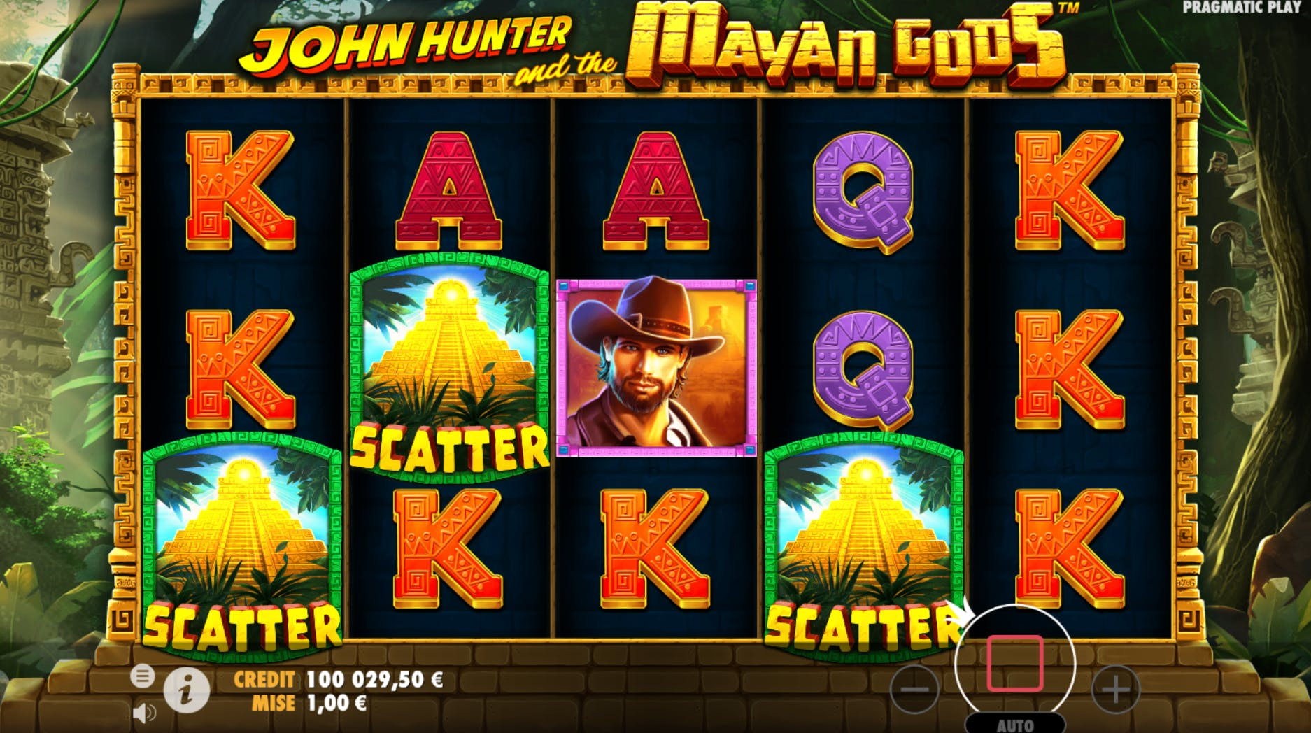 scatter john hunter and the mayan gods
