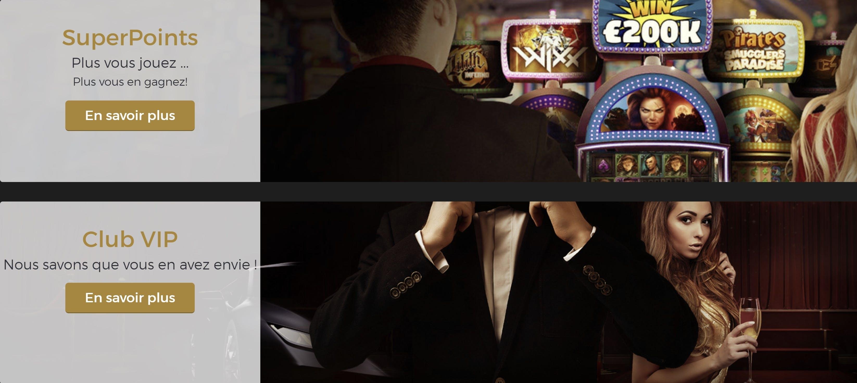 Extra Casino promotions