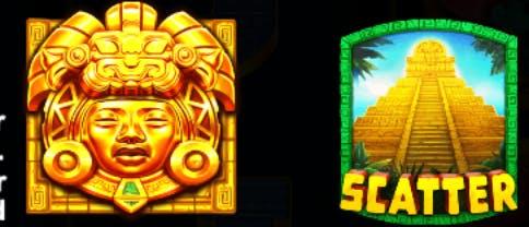 symboles spéciaux john hunter and the mayan gods