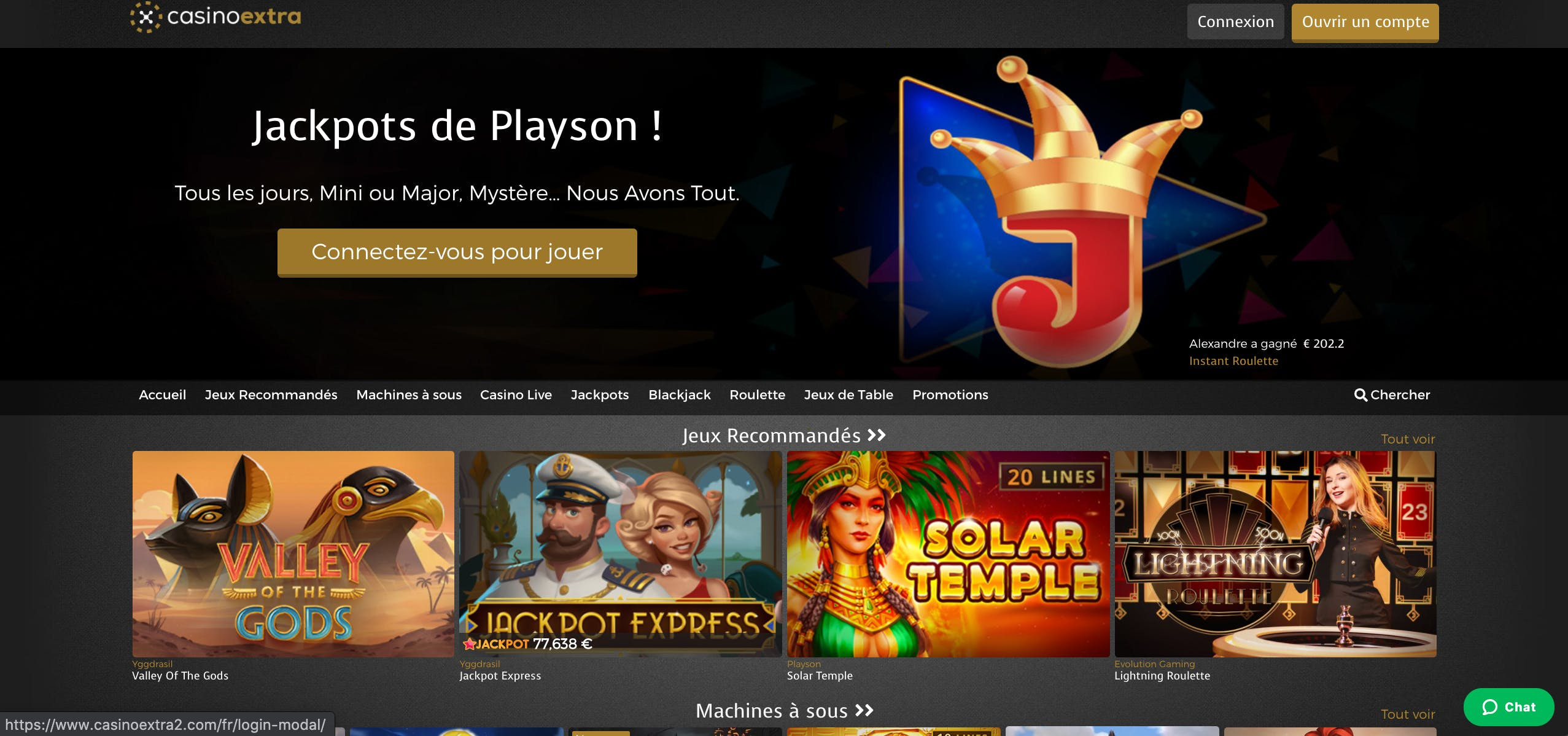 home page casino extra