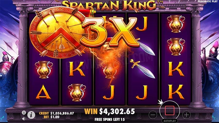 bonus spartan king
