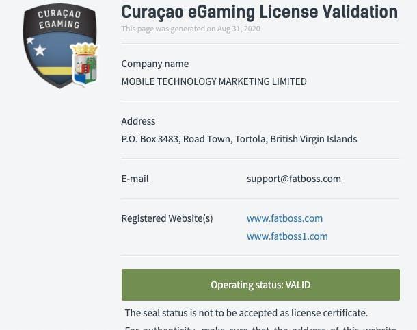 licence fatboss