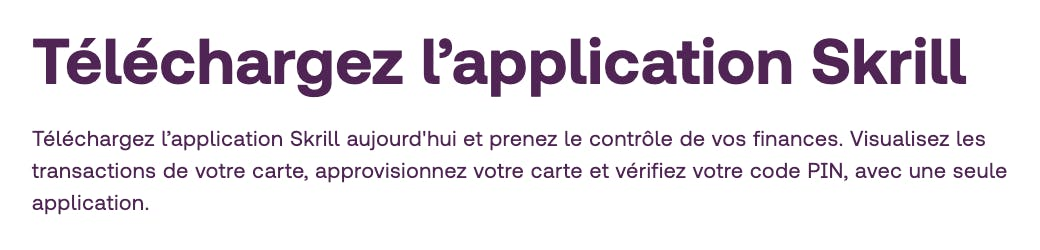 telecharger l'application skrill