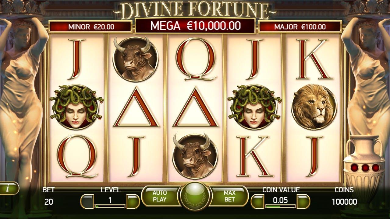 screenshot divine fortune