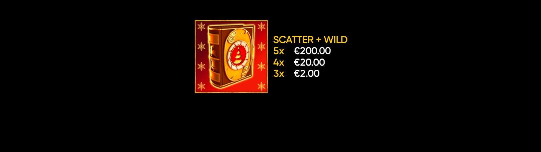 scatter + wild