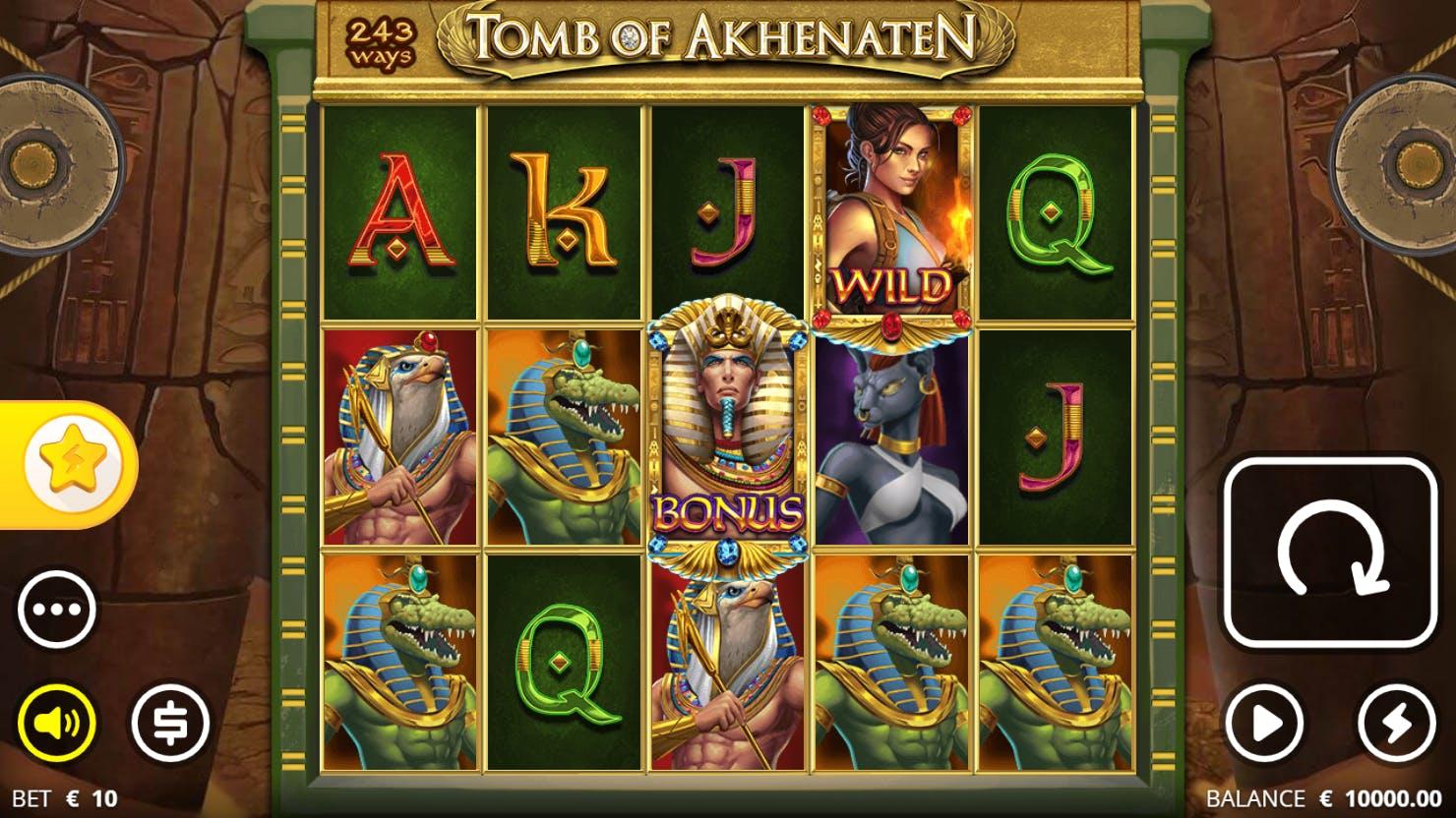 screenshot tomb of akhenaten