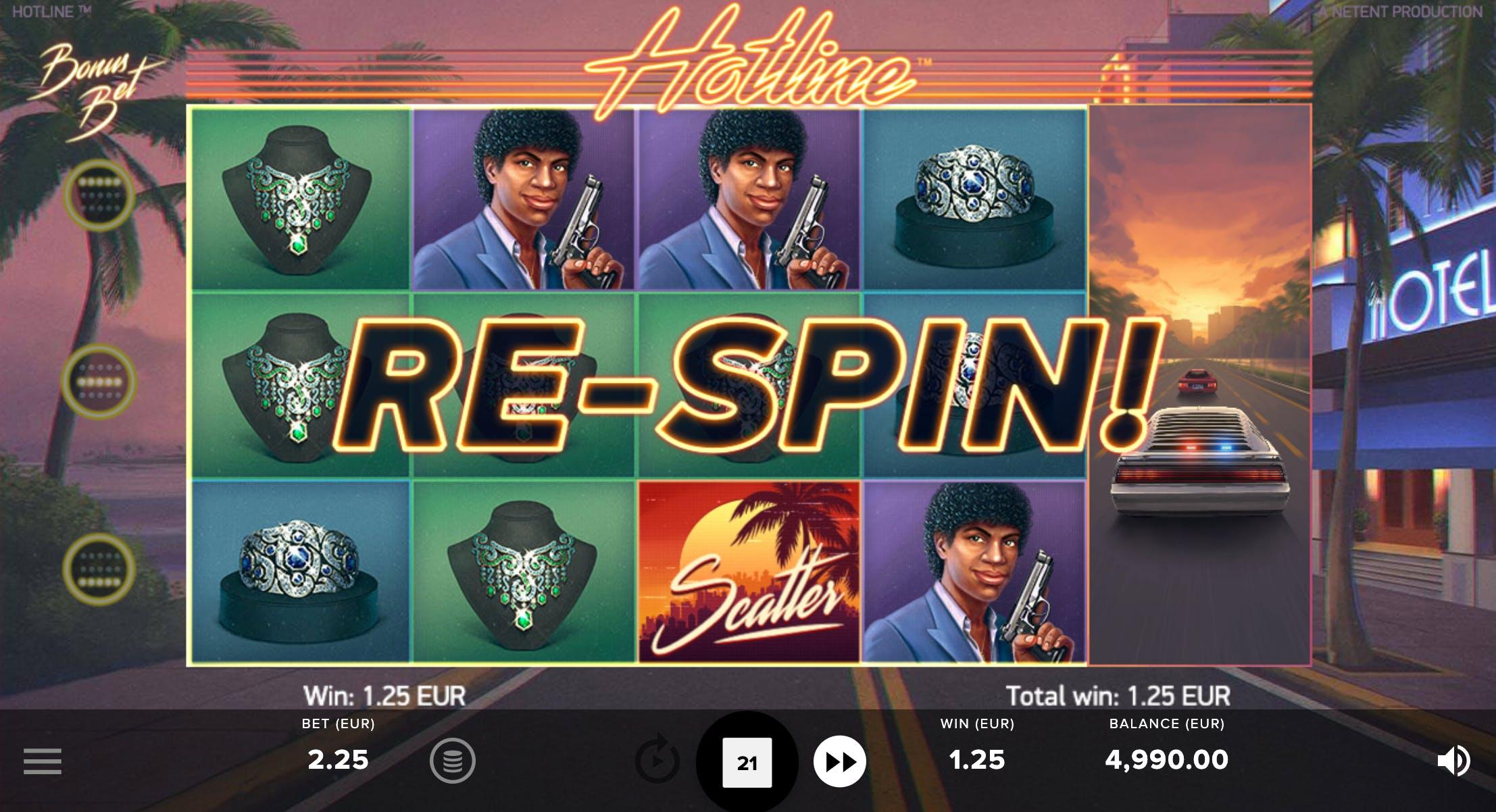 re spin hotline