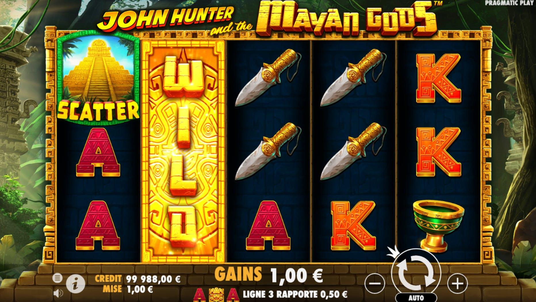 gameplay john hunter and the mayan gods