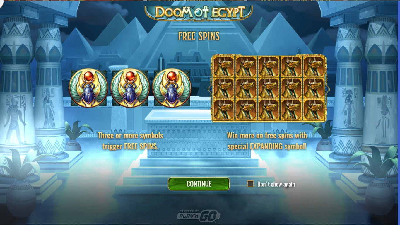 scatter doom of egypt