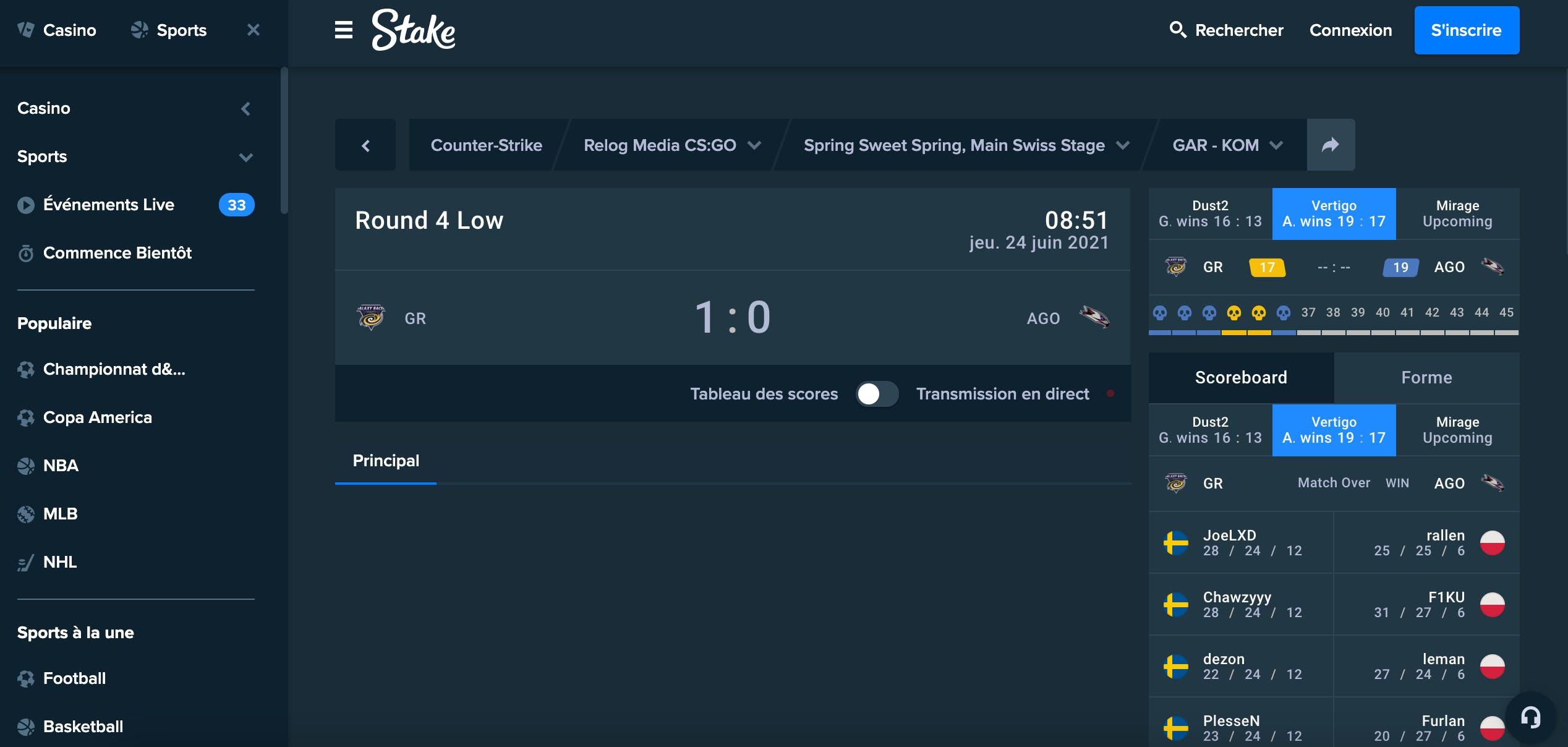 stake screenshot