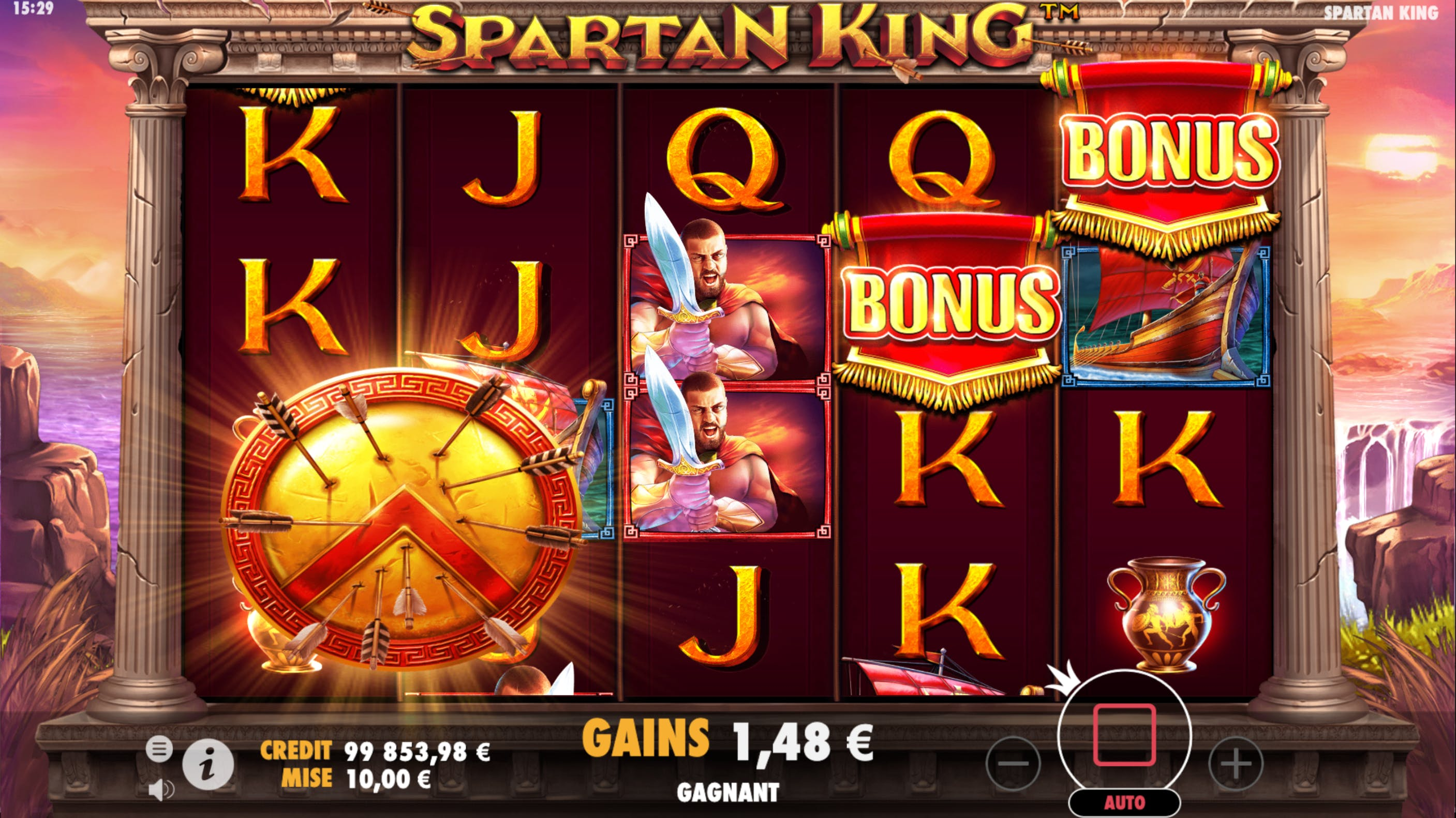 big wild spartan king