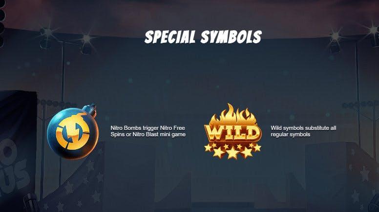 special symbols nitro circus