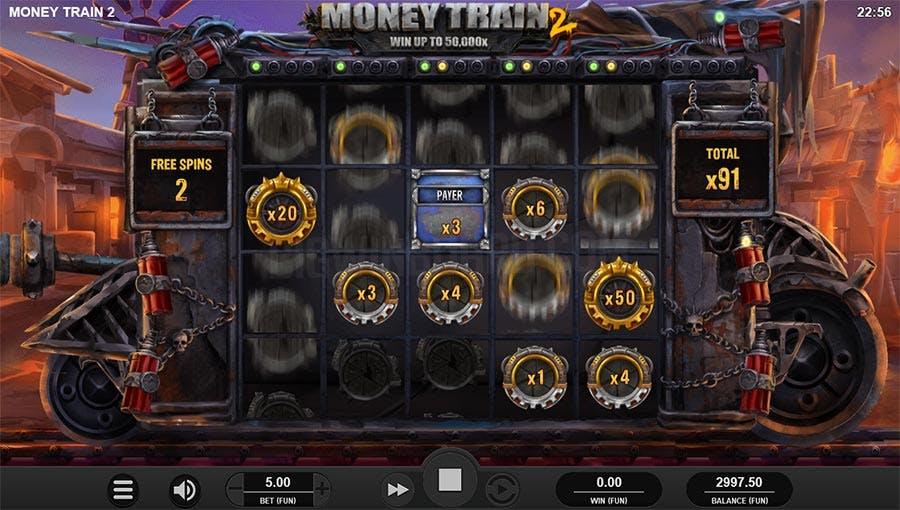 bonus symbols money train 2