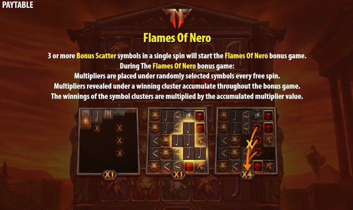 bonus nero's fortune