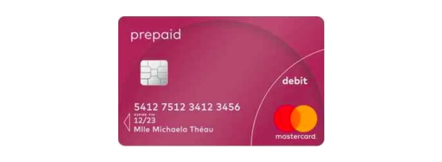 carte prepaid