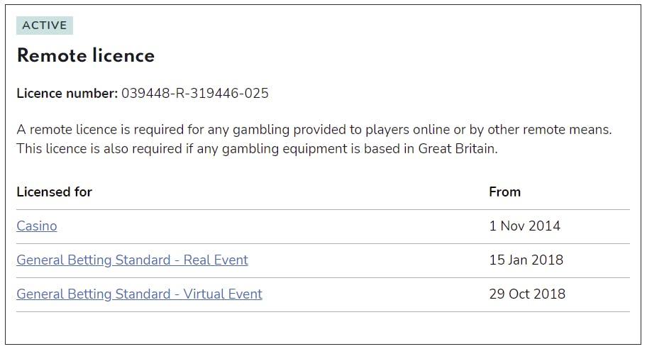 licence casino.com