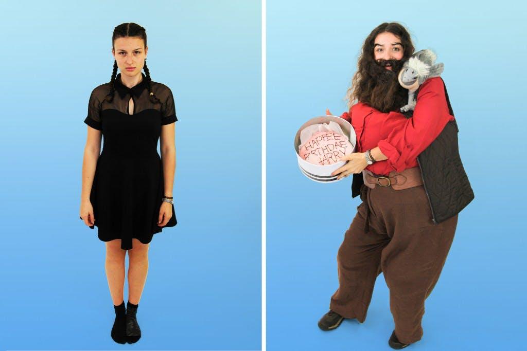 Katherine McLure (Jr Digital Coordinator) as Hagrid