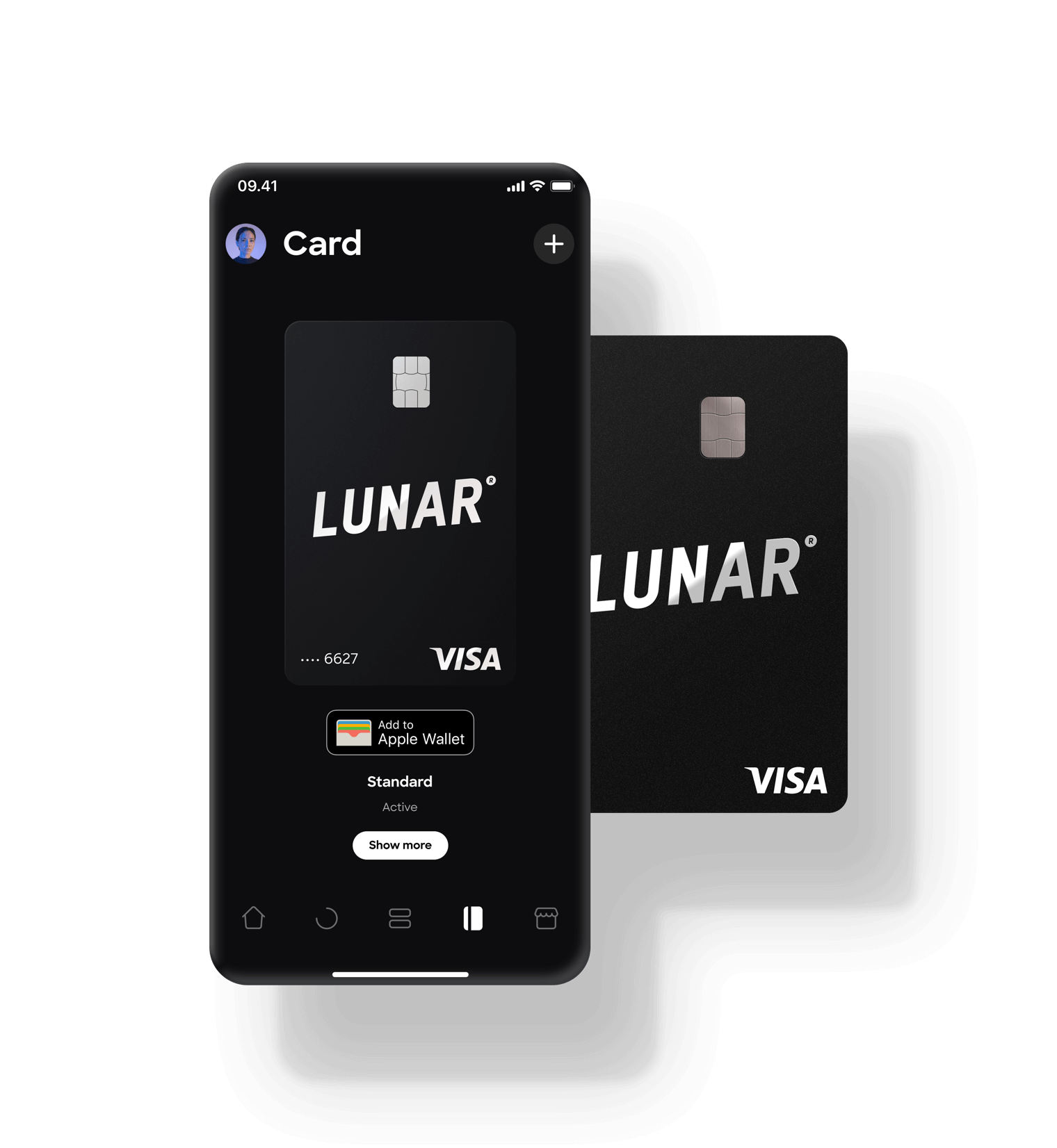 Use your Lunar card with Apple Pay