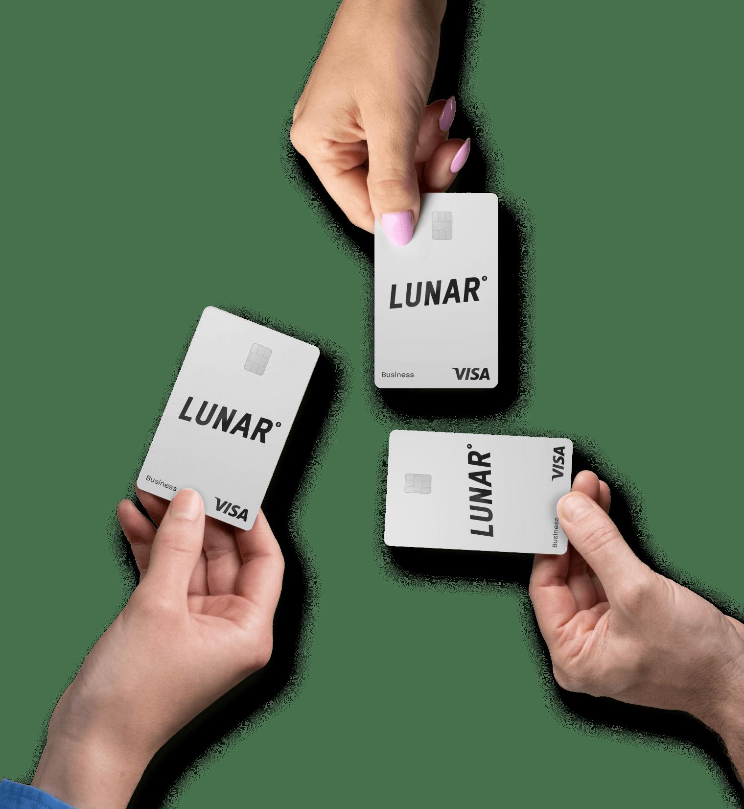 Lunar Business company card