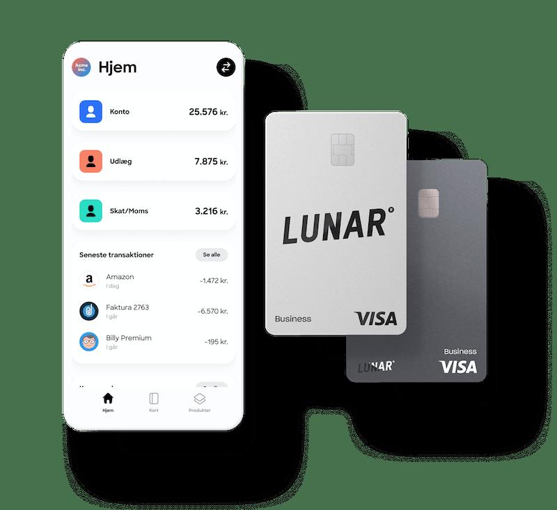 Lunar Business account for entrepreneurs
