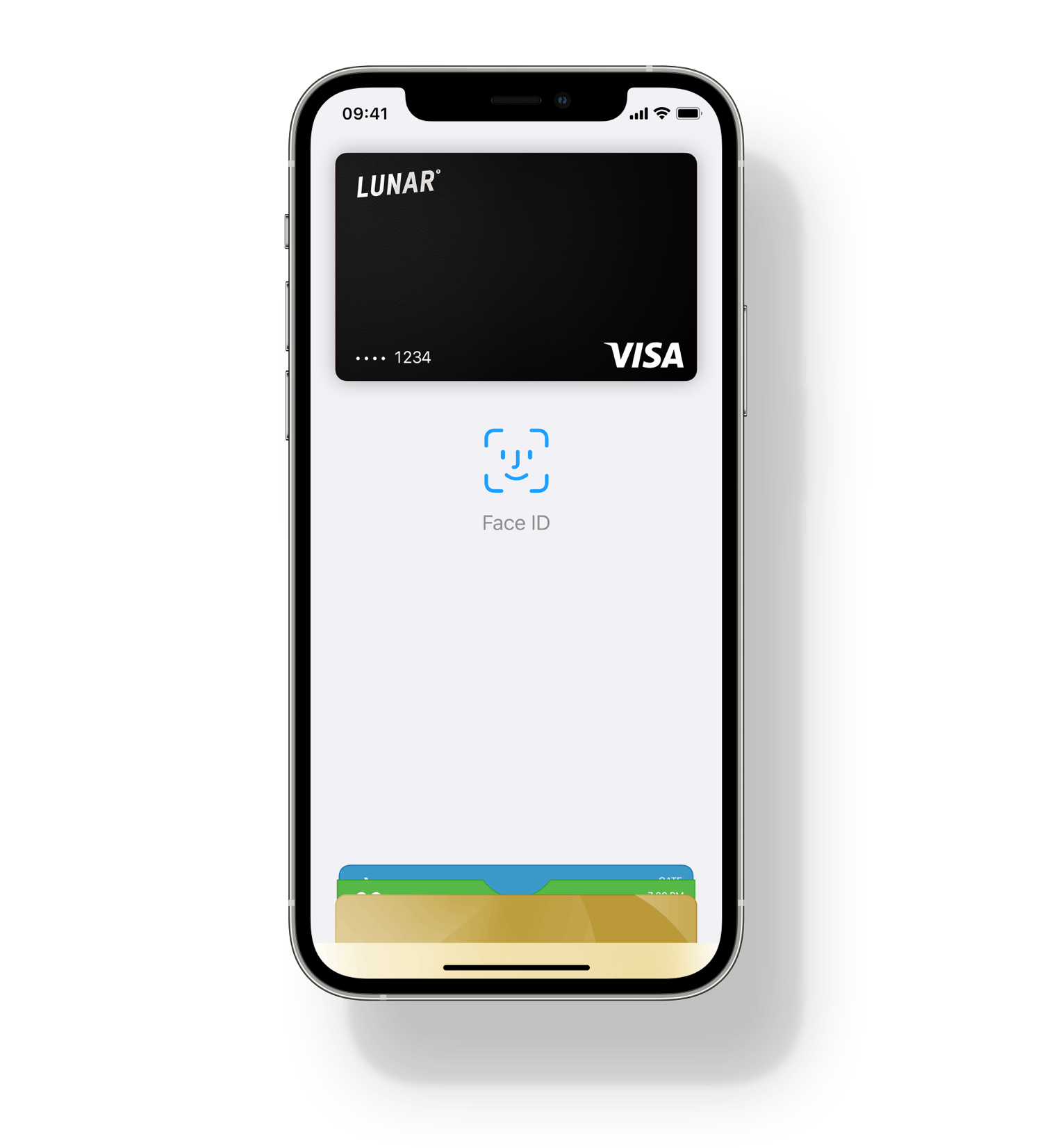 Add your Lunar card to Apple Pay