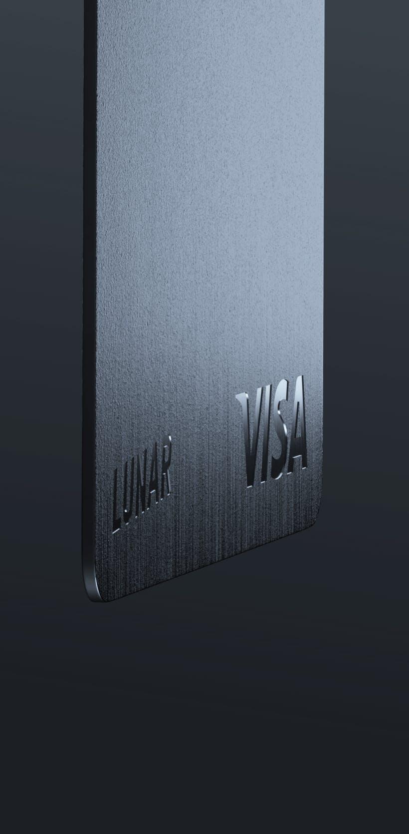 Specialdesignat metallkort