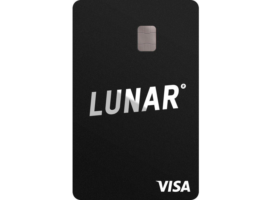 Black Lunar Visa card