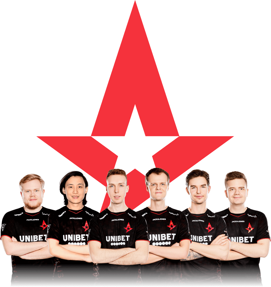 The Astralis Counter-strike team