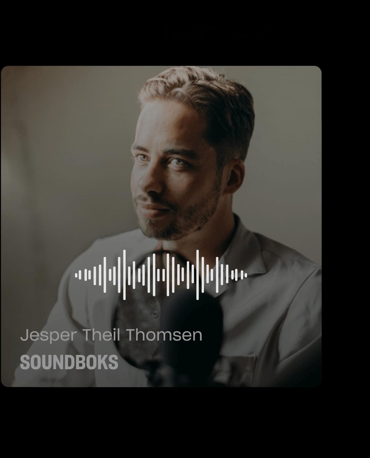 Podcast med Jesper Theil Thomsen, Soundboks.