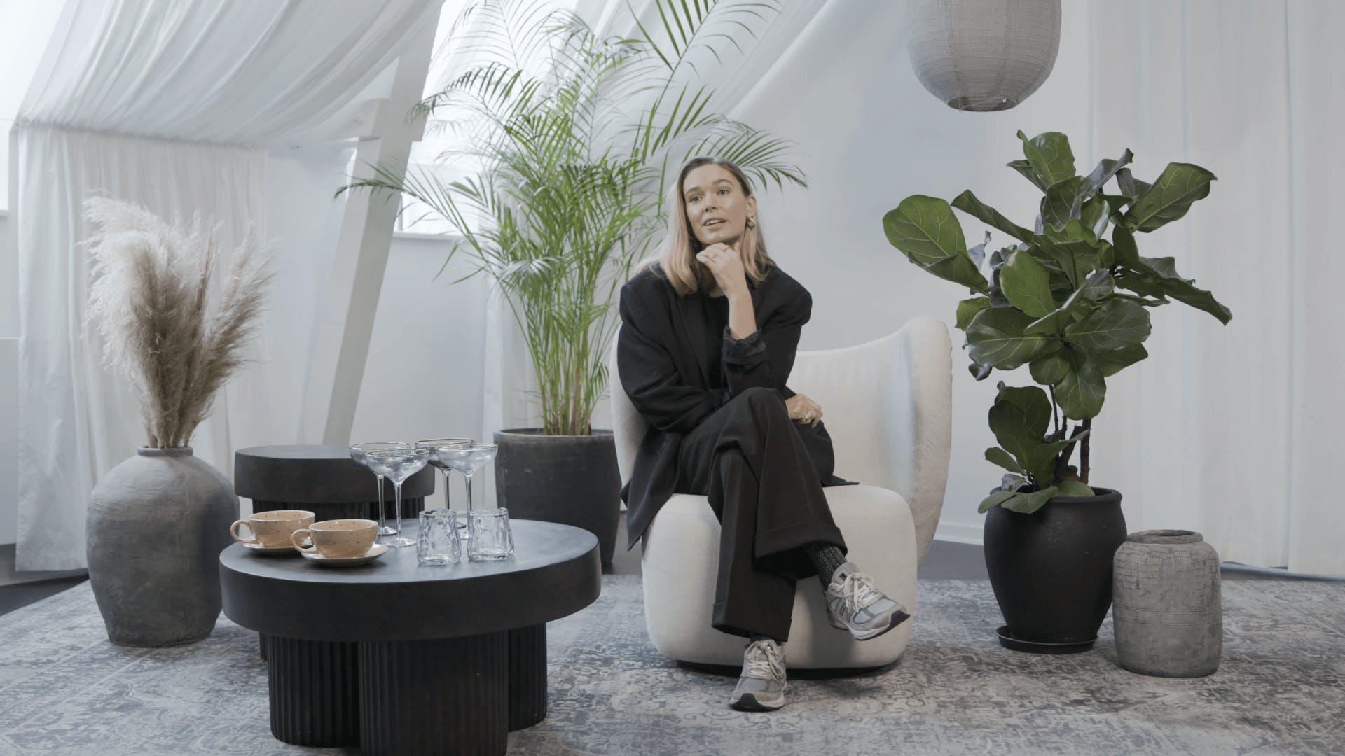 Tina Maria, founder, Aurum Copenhagen