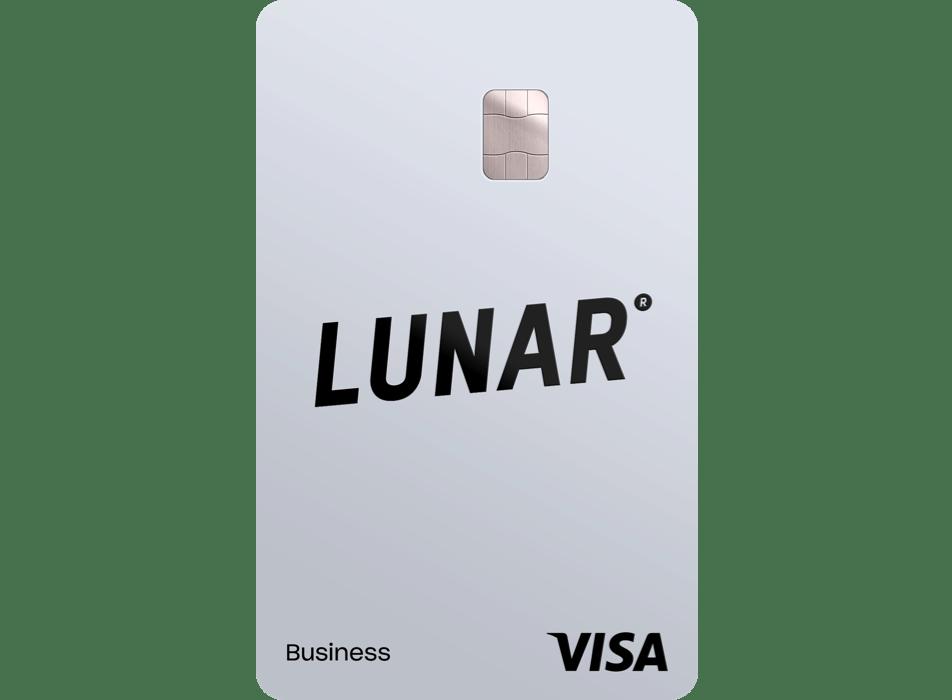Lunar Business Solo Visa card