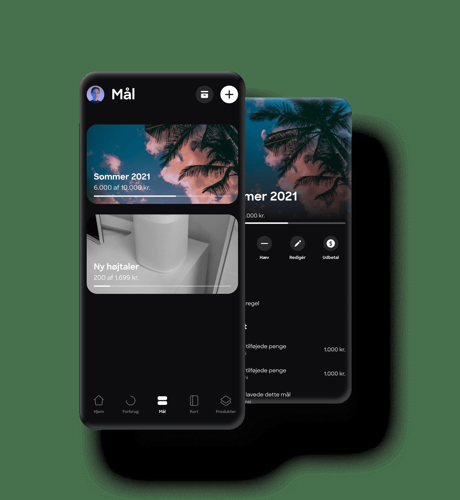 Spar op til det du drømmer om med Danmarks bedste bank-app for unge