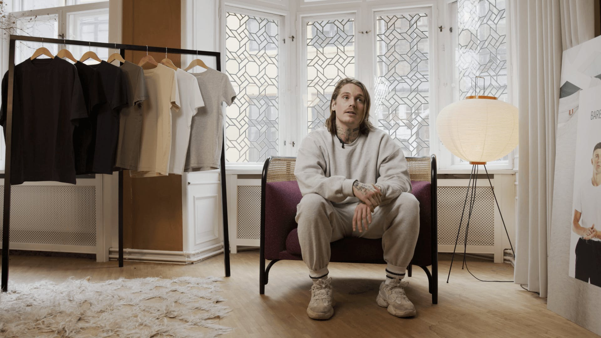 Anthon Louis, co-founder, Bare En T-shirt